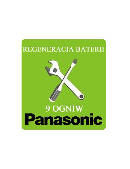 Regeneracja baterii do laptopa - 9 ogniw Panasonic