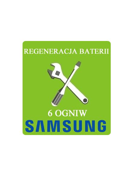 Regeneracja baterii do laptopa - 6 ogniw SAMSUNG