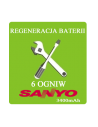 Review for Regeneracja baterii do laptopa - 6 ogniw SANYO 3400mAh