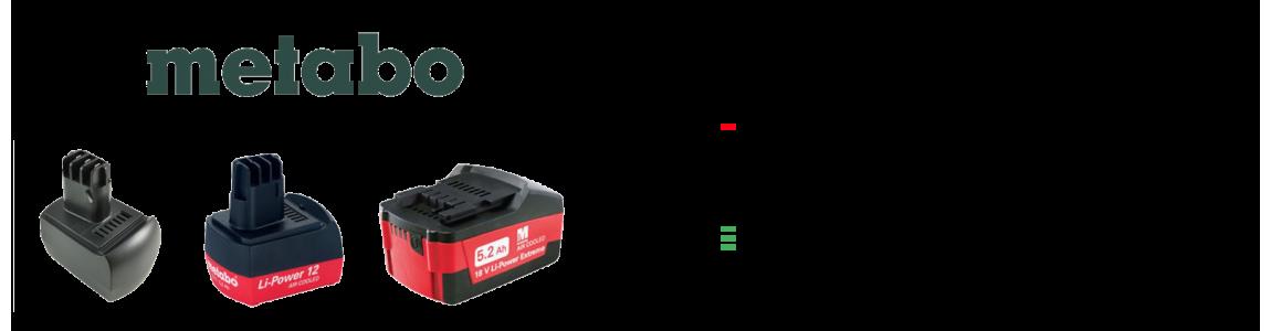 Usługa regeneracji baterii do elektronarzędzi firmy Metabo