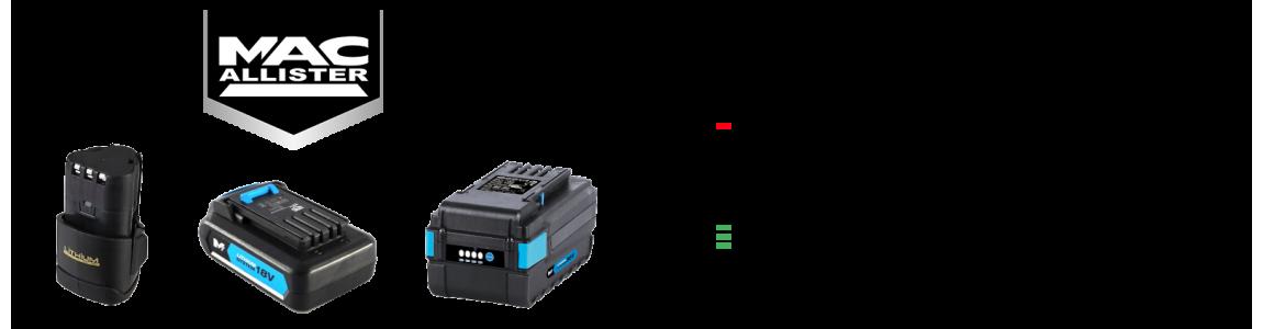 Regeneracja akumulatorów MacAllister