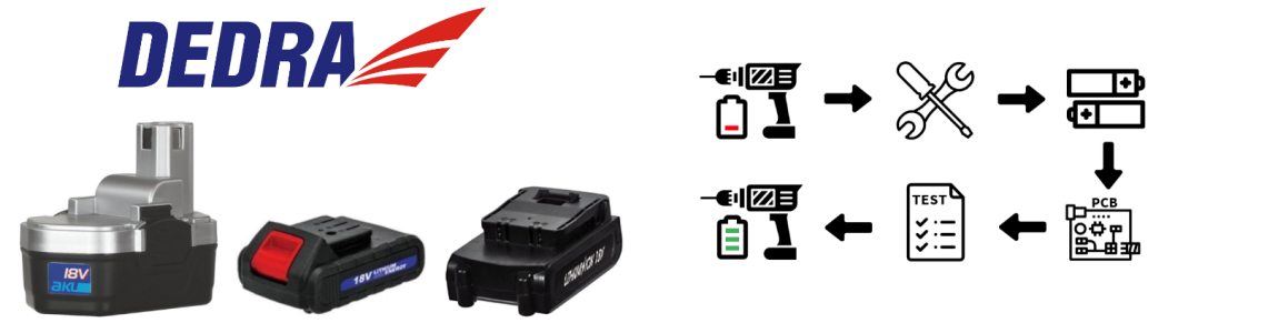 Regeneracja akumulatorów Dedra