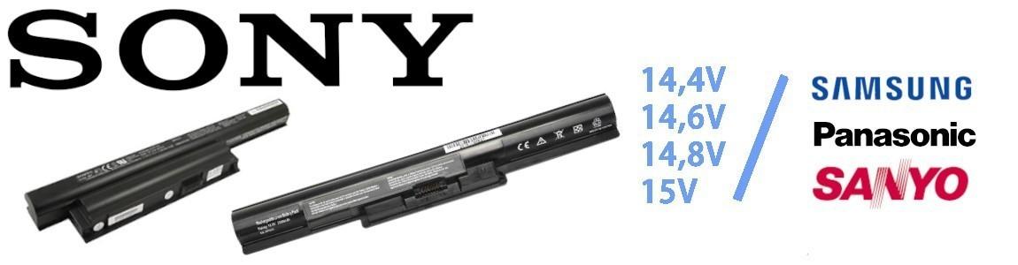 Regeneracja baterii do laptopa Sony o napięciu 14,4V / 14,6V / 14,8V / 15V