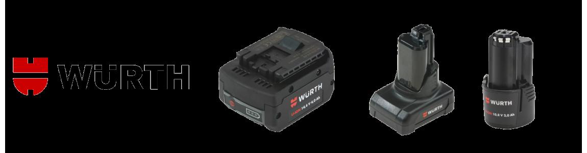 Akumulatory do elektronarzędzi marki Würth