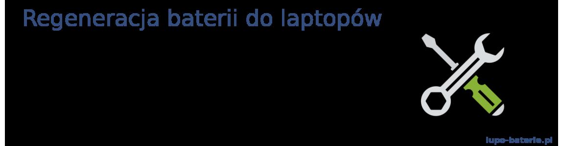 Usługa regeneracji baterii do laptopów
