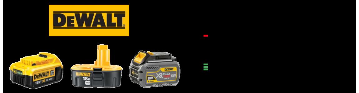 Regeneracja akumulatorów DeWalt