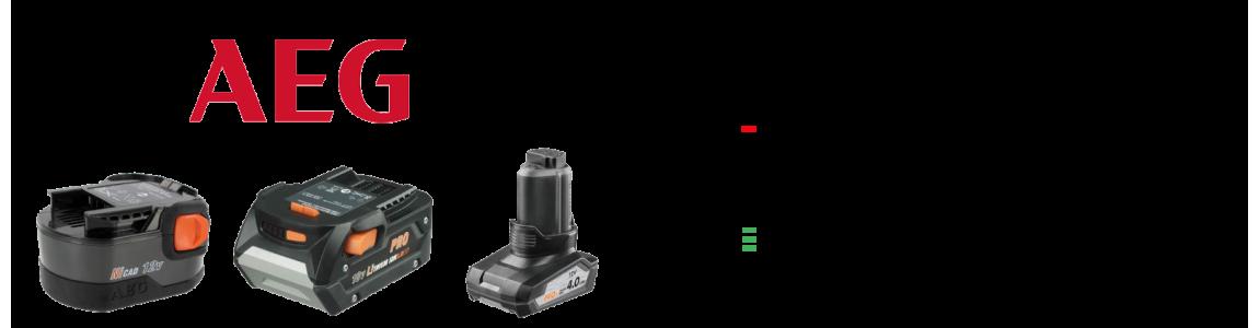 Profesjonalna regeneracja akumulatorów do elektronarzędzi AEG