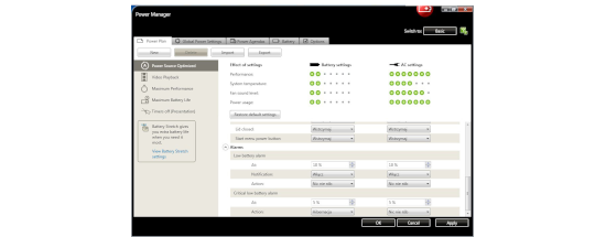 LENOVO POWER MANAGER